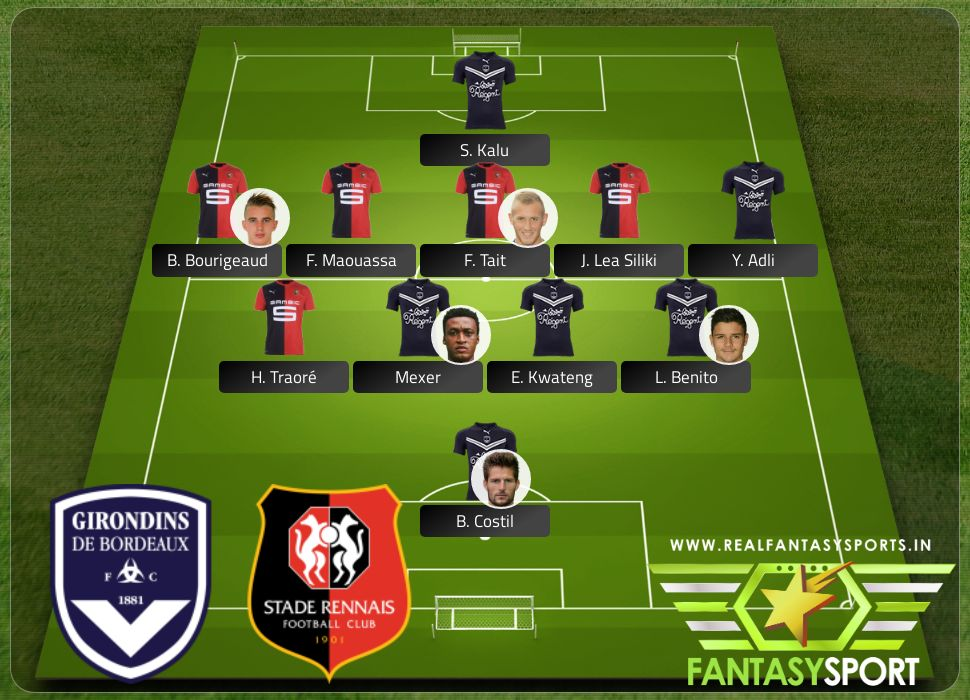 Bordeaux vs Rennes Sunday 15th March at 14:00