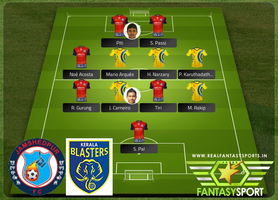 Jamshedpur vs Kerala Blasters pick Draft Kings prediction J. Carneiro
